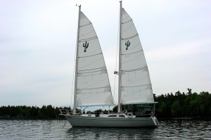 Voiles neuves Atlantis 2008